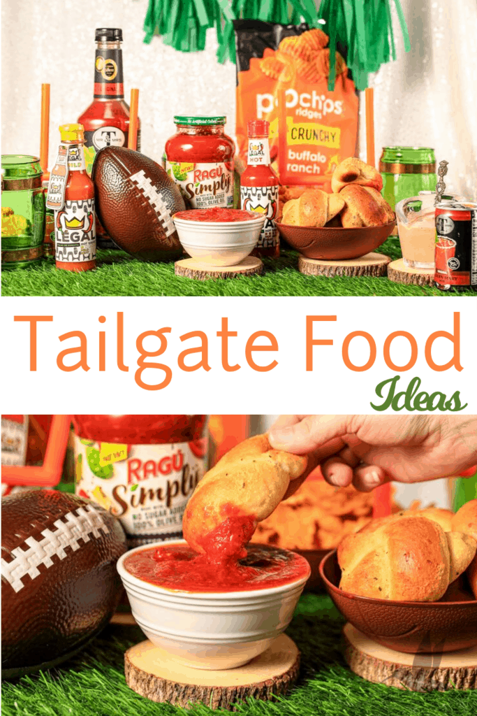 Make your game day tailgating party easy with several shortcuts to the best tailgate food ideas while keeping the flavor better than ever for a crowd!Easy Make ahead options, served warm or cold, including appetizers, dips, sides, and more to make your next football party a touchdown. #TailgateWithBBoxx  @RAGÚSauce